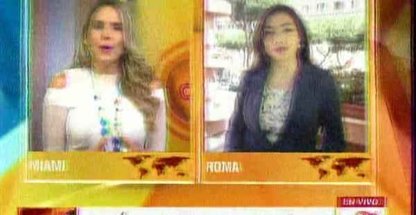 Medios internacionales se hacen eco de la visita de Morales al papa Francisco