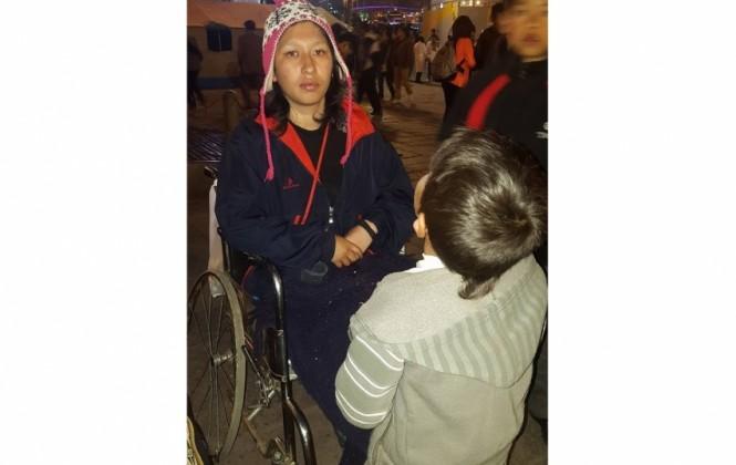 Conoce la historia de una sobreviviente de violencia intrafamiliar que quedó discapacitada para siempre