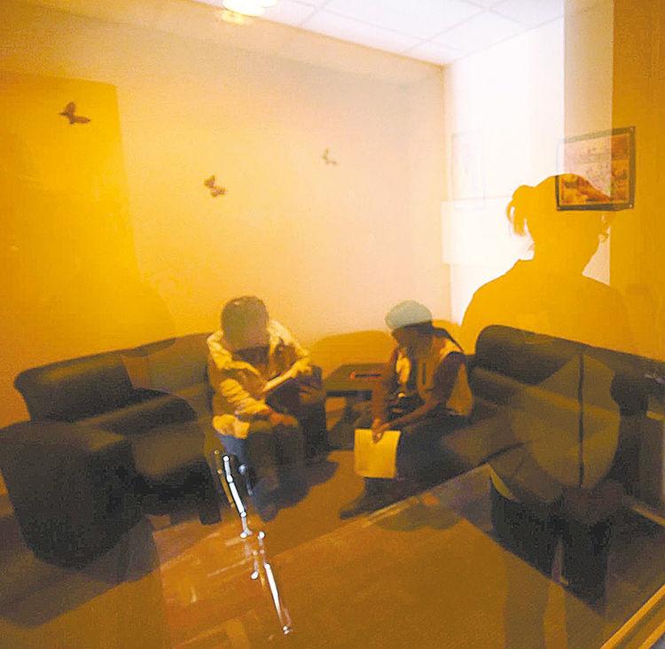 Casa. Cámara Gesell del albergue de La Paz. Foto: Wara Vargas