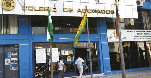 El Colegio de Abogados de Santa Cruz tendrá elecciones y ya cuenta con nuevas normas