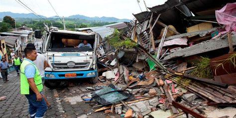Terremoto en Ecuador, foto:EFE