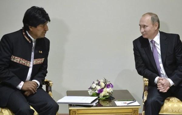 Putin destaca la amplitud de los acuerdos con Bolivia