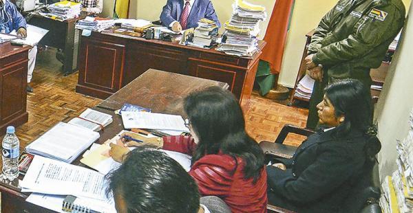 Cristina Choque presentó un nuevo informe a los fiscales