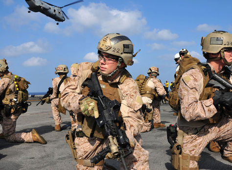 Marines estadounidenses en Siria. Foto: taringa.net