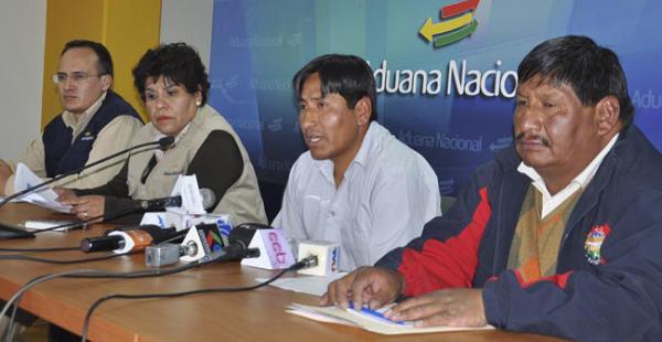 La Aduana ha dado un duro golpe al contrabando en Beni La Aduana ha sellado un convenio con los fabriles del sector textil para sumarse a los controles contra el contrabando