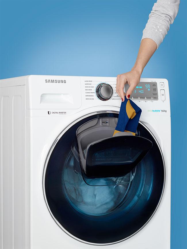 SAMSUNG ADDWASH o cómo abrir una nueva puerta en la lavadora