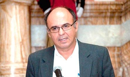 """Ministro Ferreira llama """"cuje"""" al gobernador Rubén Costas"""