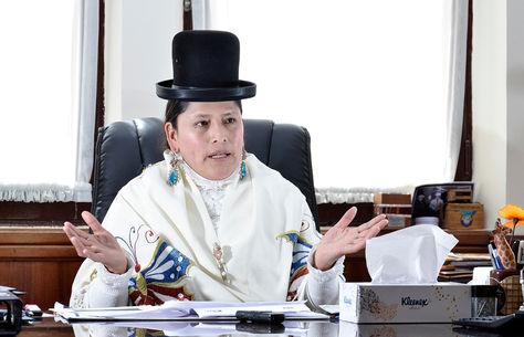 Virginia Velasco, ministra de Justicia