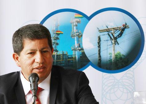 Luis Alberto Sánchez, ministro de Hidrocarburos y Energía