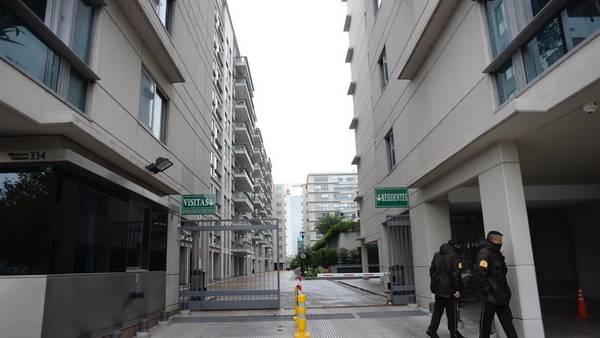 Edificio Madero Center donde varias propiedades de la ex presidenta Cristina Kirchner fueron allanadas por orden del juez Bonadio. Foto: Andrés D