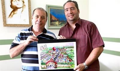 Paulo Meirelles y Mauro Morata, los socios de Soft Love, la empresa que ideó Erotikaland (@stanlay).