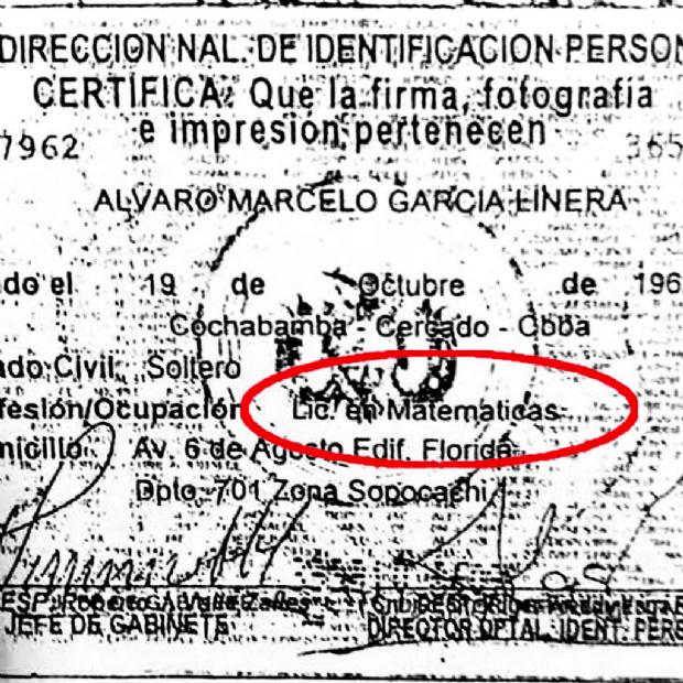 Senador denuncia al Vice por los datos falsos en sus documentos