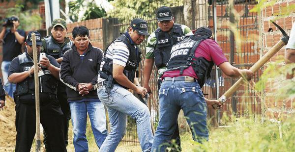 La búsqueda del cuerpo se inició el martes. Ayer se suspendió por la lluvia, pero se reiniciará, dijo el fiscal