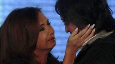 Cristina y Máximo Kirchner