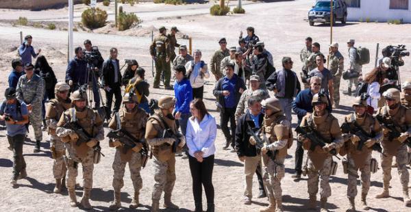 Chile dice que no hay misiles en base militar