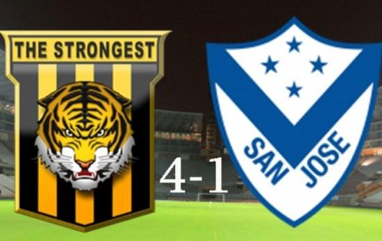 The Strongest golea 4-1 a San José y asegura la tercera plaza de la Libertadores del 2017