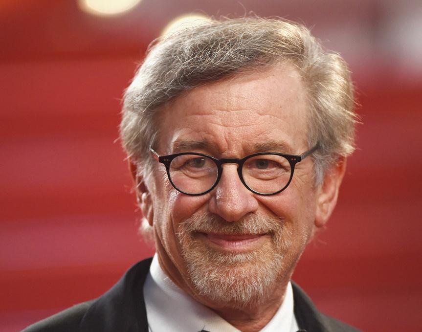 Steven Spielberg, en el estreno en Cannes de