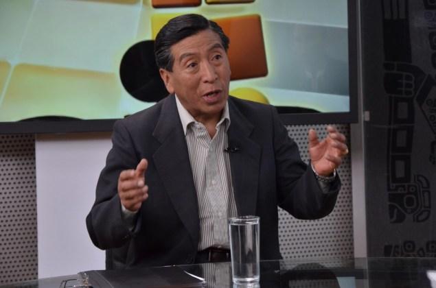 El abogado del presidente Evo Morales, Gastón Velásquez. (ABI)