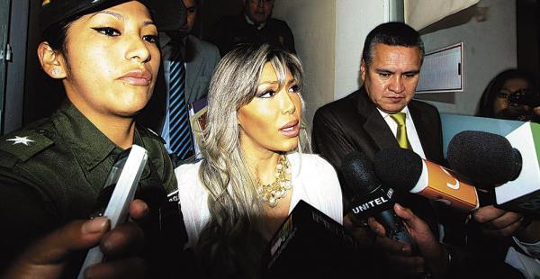 Gabriela Zapata anunció que presentará al niño ante un canal de televisión internacional