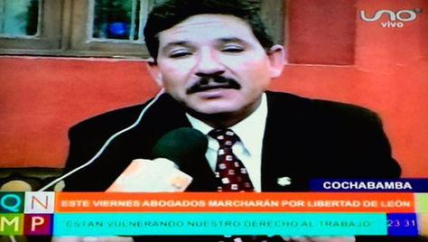 Carlos Cabrera durante su intervención en el programa Que No Me Pierda