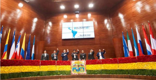 La Cumbre de Alcaldes se clausuró este viernes en Sucre