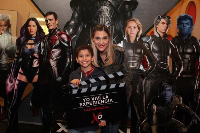 Analía Roca y su hijo Lucas Mendizabal