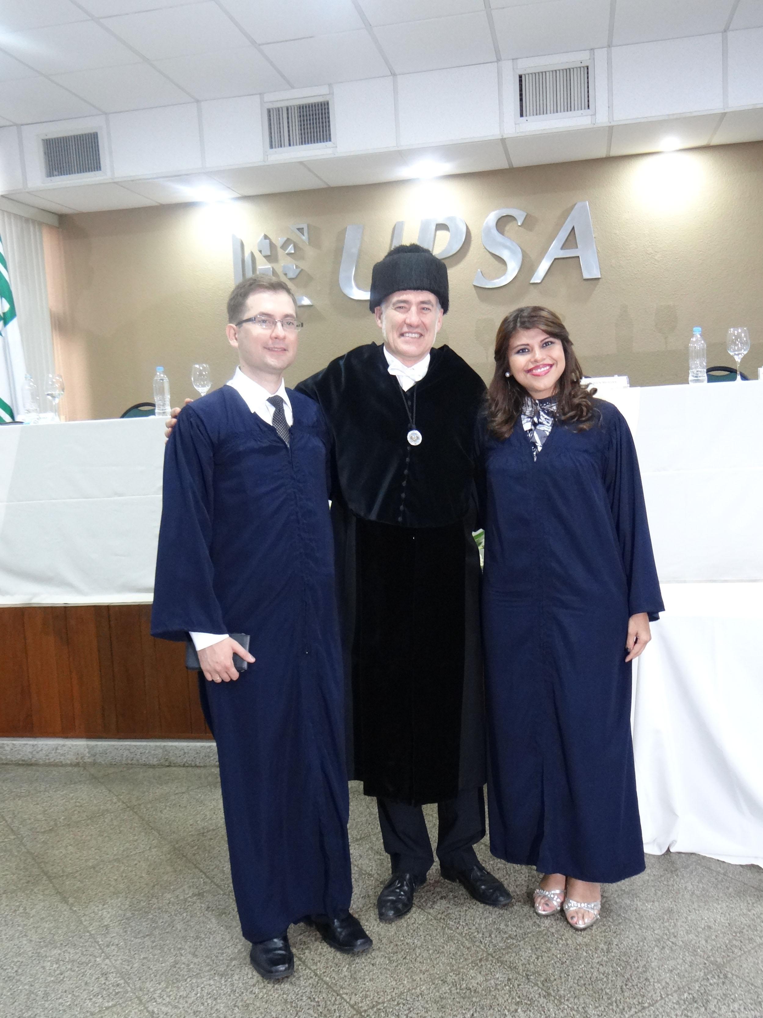 Los graduados con el rector de la UPV