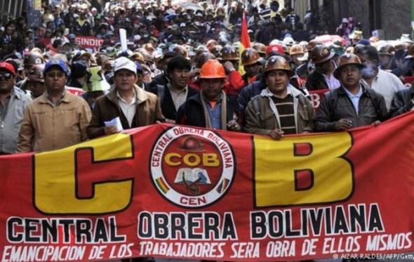 COB dice que la derecha está en el Gobierno y convoca a marcha para el jueves en apoyo a Enatex