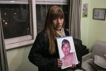 Miriam Zambrano, hermana de Adriana Marisel, víctima de feminicidio.