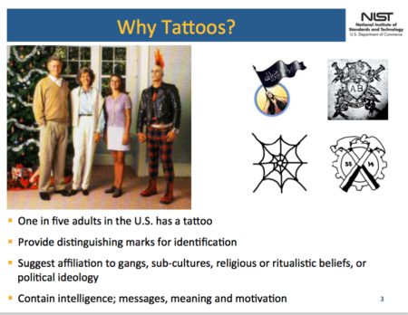 Tattoo Recognition Technology