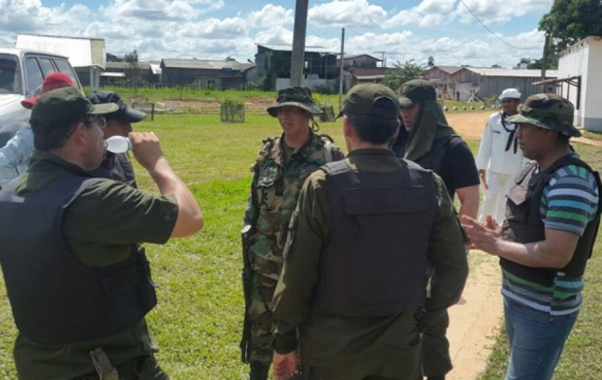 Gobierno identifica a dos sospechosos del asesinato del cabo Franklin Mamani
