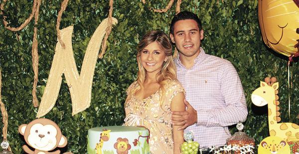 Futuros papás la exmagnífica María Ingrid Aguilera y Nicolás Vaca Díez esperan a su primogénito, que nacerá el 23 de junio