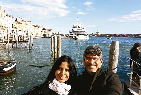 Una instantánea distinta de Venecia.