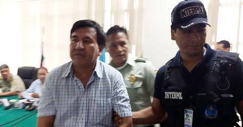 José Luis Sejas Rosales fue presentdo a los medios de comunicación en Santa Cruz