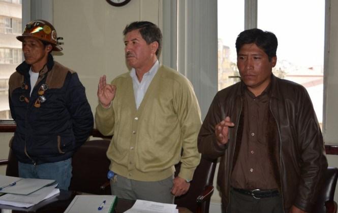 Posesionan a nuevos miembros del directorio de Comibol
