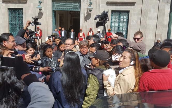 Periodistas de base se movilizan en defensa de la Ley de Imprenta y en contra de las agresiones