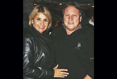 Silvana Velasco, Con su esposo, el actor Ernesto Ferrante
