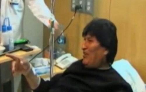 Dan de alta al presidente Evo Morales tras su cirugía