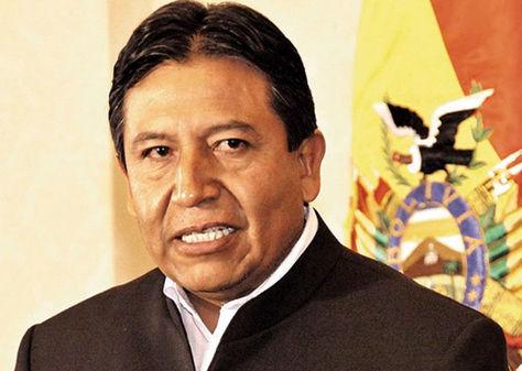 El canciller David Choquehuanca.
