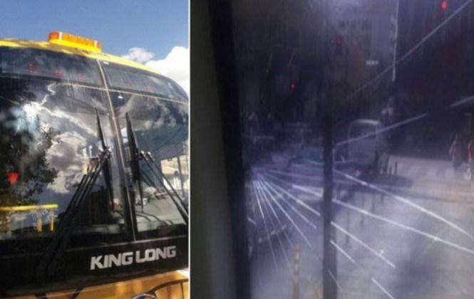 Policía estima que alrededor de 20 personas participaron en agresión a bus PumaKatari