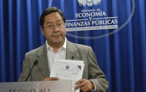Ministro Arce niega que agencia Moody's haya bajado la calificación de Bolivia