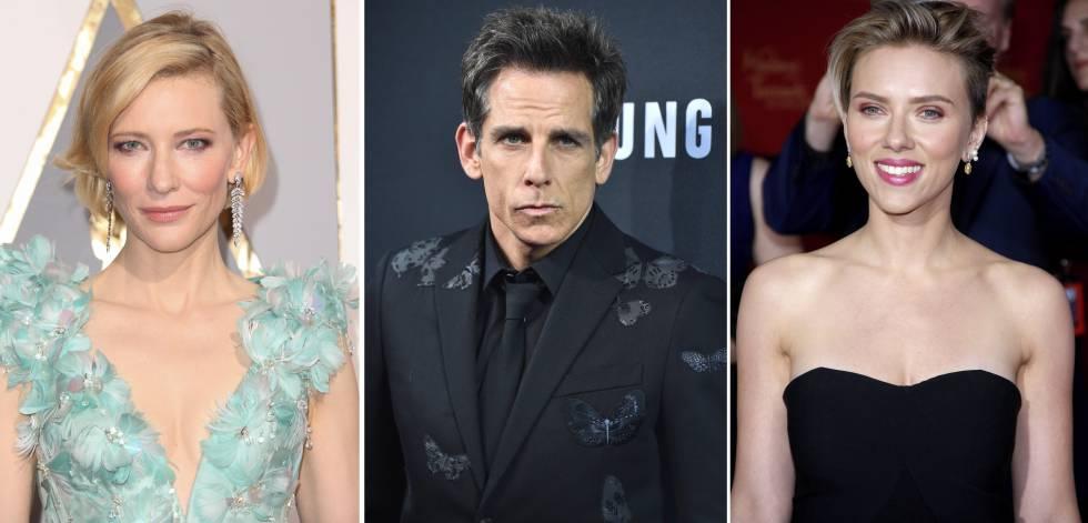 Cate Blanchett, Ben Stiller, Scarlett Johansson, juntos en una campaña de Acnur.