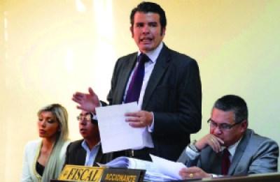 Fiscal anuncia el cierre de la investigación del caso Zapata