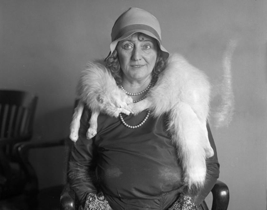 Dolly Oesterrich, en una foto tomada en los años 30.