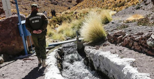 Según el Gobierno, además de las aguas del Silala, hay otros recursos hídricos que Chile usa debido a desvíos unilaterales hechos en el pasado