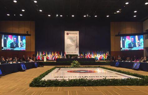 Sesión ministerial de Unasur.