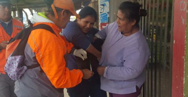Las mascotas de los barrios más alejados siguen siendo vacunadas para evitar el mal de rabia