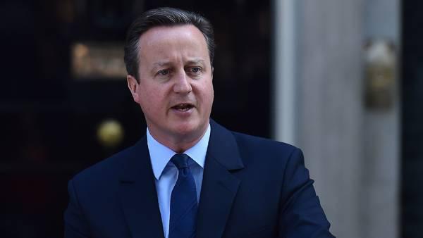 Ante el triunfo del Brexit, el primer ministro británico, David Cameron, anunció que renunciará en octubre a su cargo. AFP