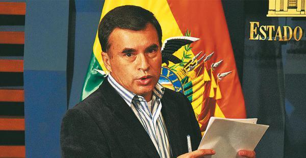 Juan Ramón Quintana dijo que ahora los golpes de EEUU son suaves