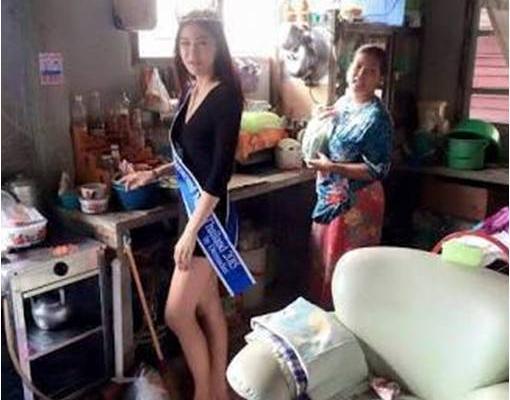 Una de las imágenes que Khanittha Phasaeng que ha compartido en su Facebook